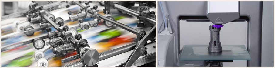 Imprimerie moderne